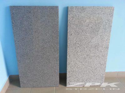 kamień strzeliński ciemny i jasny polerowany
