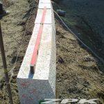 krawężniki granitowe łukowe 20x30 cm
