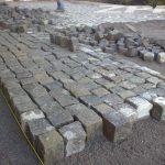 kostka kamienna czarna SZWED Bodafors 8/11 cm